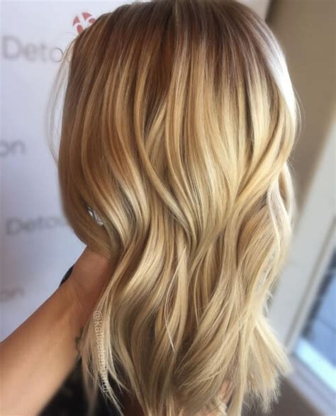 blonde hair in front brown in back awesome hairstyles color and highlights pictures styles