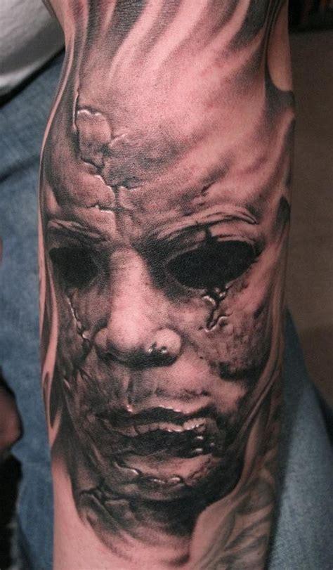 creepy horror tattoos girly design blog