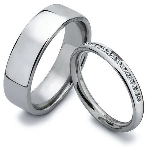 His And Hers Wedding Rings by His Wedding Bands Wedding Dress From Je T Aime