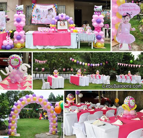 Carnival Themed Table Decorations Cebu Balloons And Party Supplies Maranga