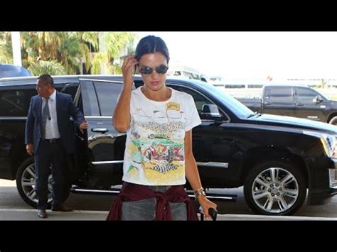 Alessandra Ambrosio Cleans Car by Supermodel Alessandra Ambrosio Catches Flight At Lax