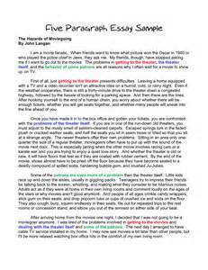 How To Write A 5 Paragraph Essay by Exle 5 Paragraph Essay Reportz725 Web Fc2