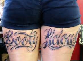 whose ratchet thigh tattoo is this awesomely luvvie