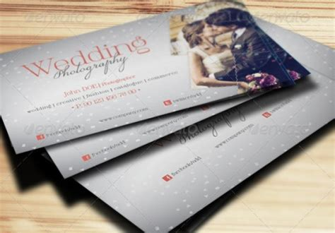 wedding business card template a list of exceptional photography business card templates