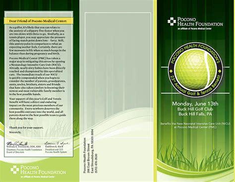 golf tournament brochure 20 in vector eps psd