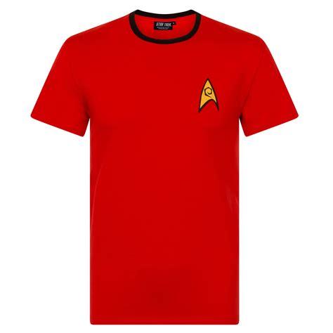 Trek 2 Mens T Shirt trek spock scotty captain kirk official gift