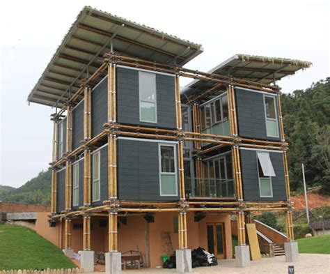 brilliant bamboo house uses ground water for