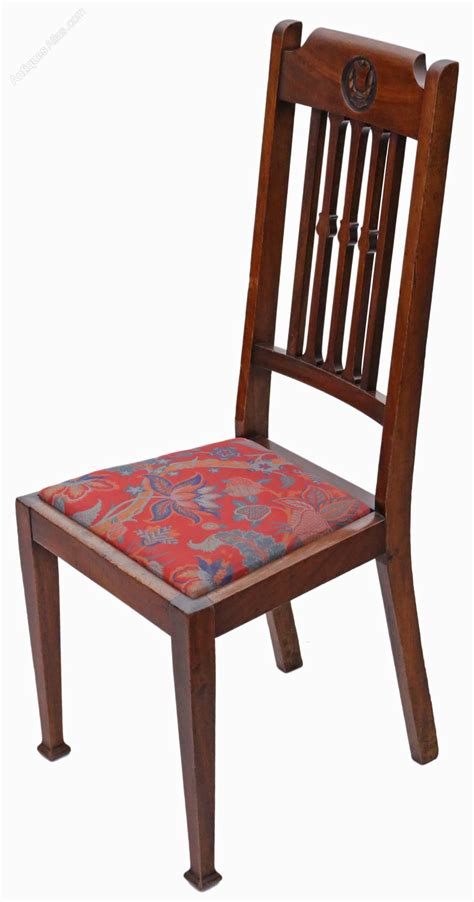 Set Of 6 Dining Chairs Set Of 6 Mahogany Dining Chairs Nouveau C1915 Antiques Atlas