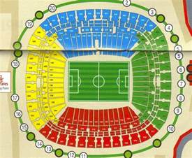 cape town stadium floor plan soccer city seating layout