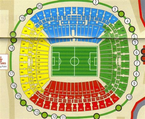 ellis park floor plan fifa 2010 world cup stadium johannesburg soccer city seat