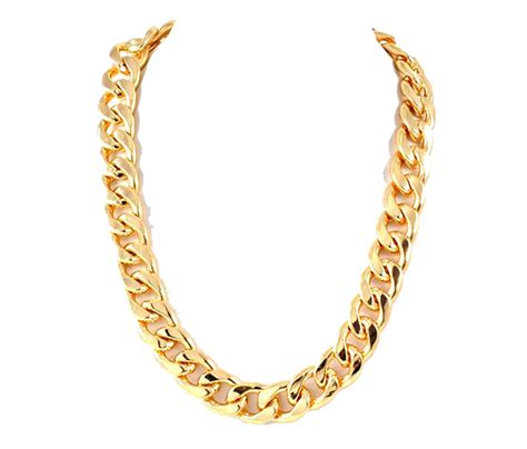 Thug Life Gold Chain PNG Photos   PNG Mart