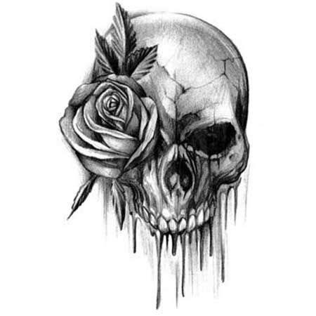 tattoo 3d caveira 25 melhores ideias sobre tatuagem caveira significado no