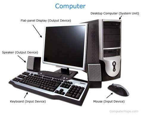 desk for desktop computer what is a computer