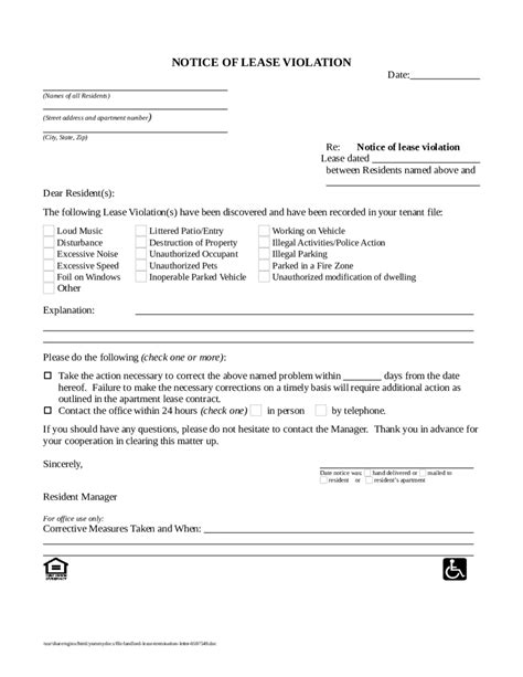 sle letter cancellation lease contract termination lease letter template landlord sle