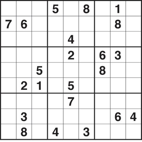free printable variety sudoku hard sudoku printable daily quotes