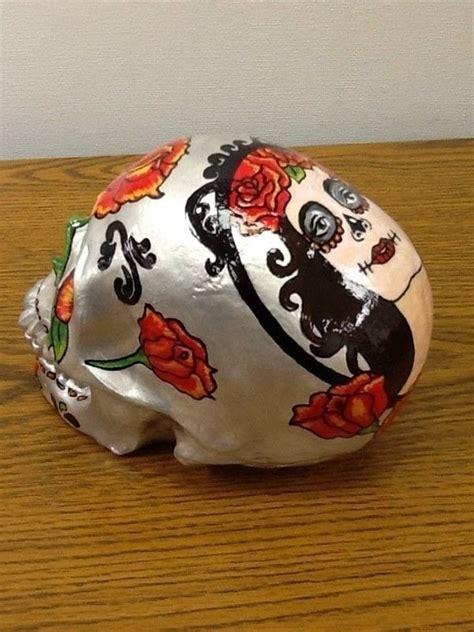 de los muertos art skull  skull art drawing