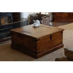 Wooden Center Tables Living Room Center Table Trunk Suryanagri Handicrafts