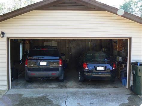 how big is a garage how big is a garage how much is a two car garage worth