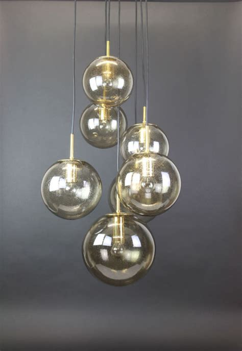 limburg illuminazione glash 252 tte limburg ceiling l with 7 smoked glass