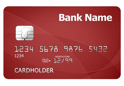 bank card design template credit card template psdgraphics