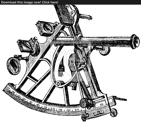 sextant vintage sextant vintage engraving vector yayimages