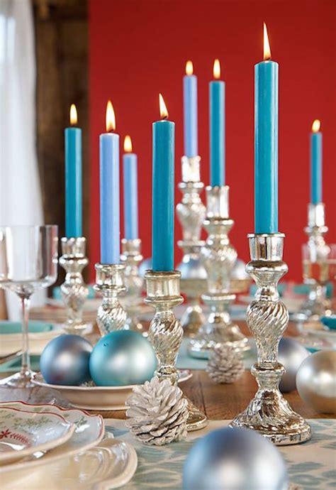 silver  blue decorations ideas  christmas