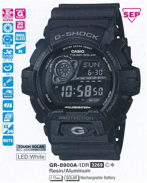 G Shock Gr8900a 1dr pin gr 8900a 8900 gr8900a 1 1a on