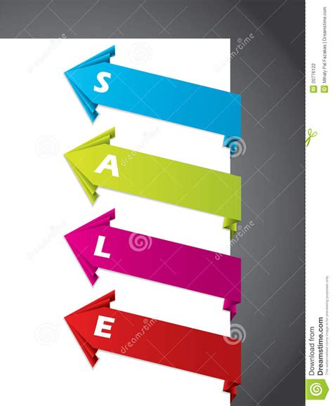 Designs Origami 4 - origami tag designs stock photography image 20776122