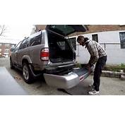 How To Remove Rear Bumper Cover Nissan Pathfinder 00 04