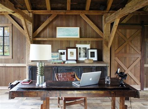 gentleman s home office country home office ideas a gentleman s coop farmhouse home office new york