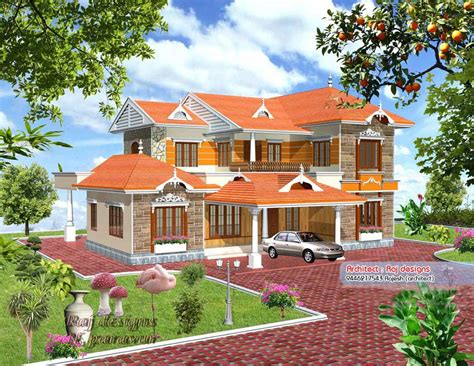 new house plan in kerala beautiful new kerala villa design at 3000 sq ft