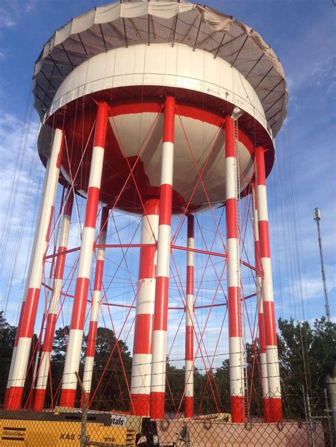 million gallon elevated water storage tank rehabilitation