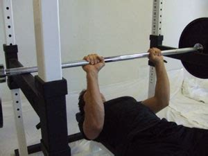 partial bench press up for a quickie t nation