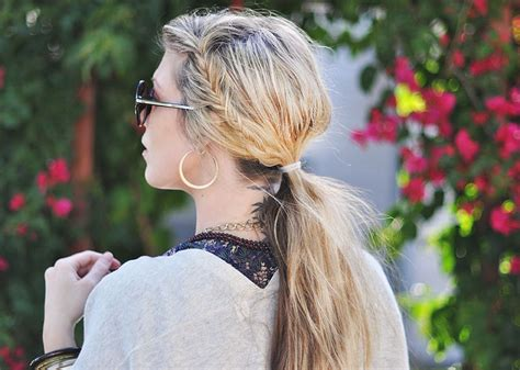 Motorcycle Ponytail Hairstyles For Women | sexiest motorcycle hairstyles for women