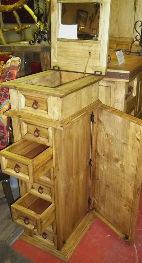 rustic jewelry armoire rustic pine jewelry armoire awesome products pinterest