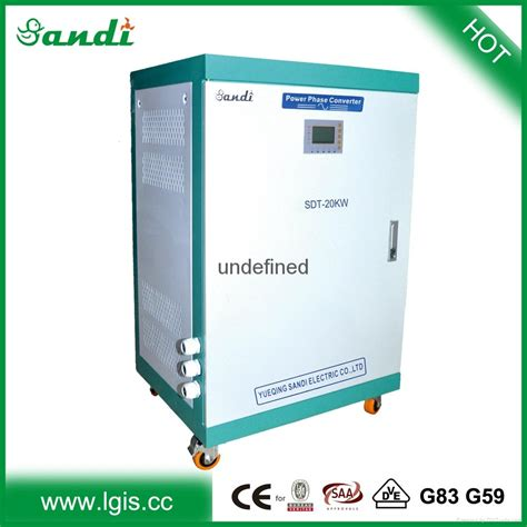 single phase 120 220 230 240v to 3 phase 440v converter