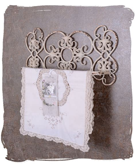 shabby chic towel bar towel holder shabby chic bad towel rack white wall mounted