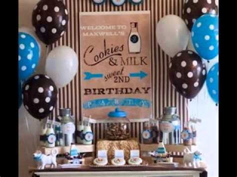 birthday themes 30 year olds one year old birthday party decoration youtube