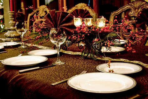 elegant christmas table decoration ideas elegant