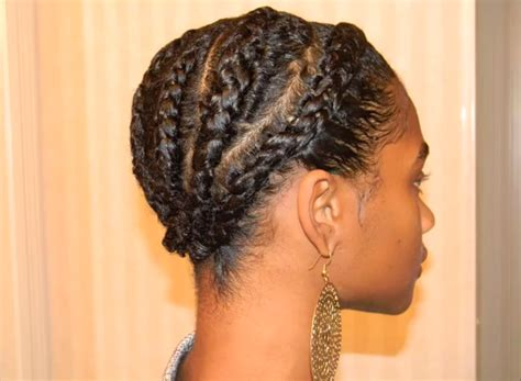twa hair braiders in georgia natural styles cornrows with a twa