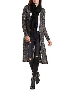 Daster Midi New Abstrak triangle patterned longline cardigan forever 21