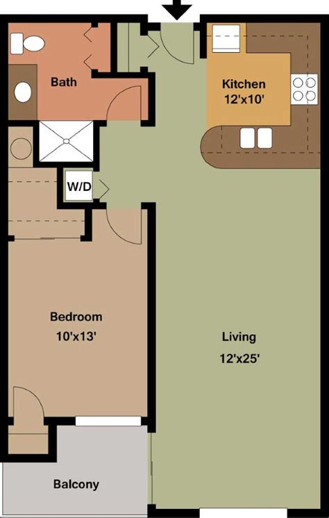 floor plans for one bedroom apartments one bedroom apartment floor plans archives edge on north