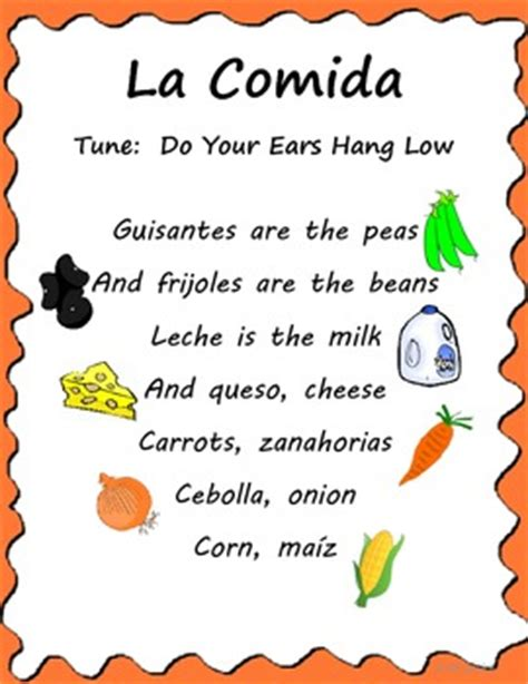 song in spanish learning songs spanish resource shop