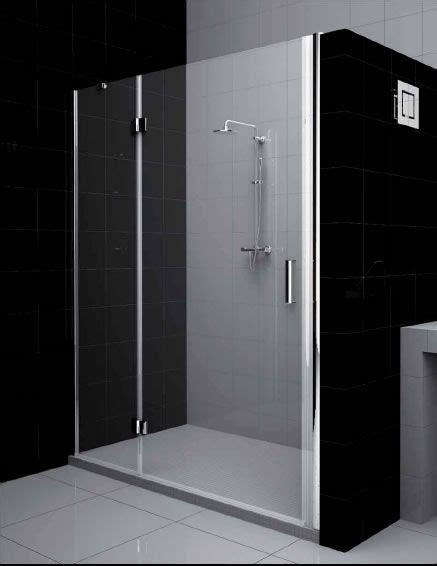 docce doppie box doccia cristallo 6 mm frameless 1 lato anta