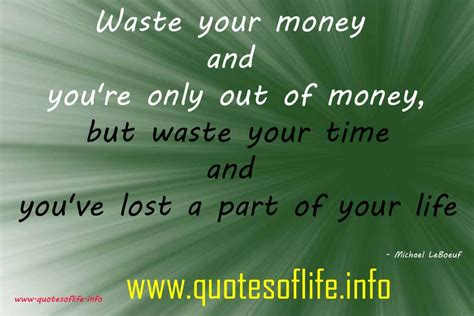 Part Time Mba Waste Of Money by Waste Of Money Quotes And Sayings Quotesgram