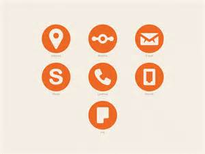 symbol for business card business cards icons by octavian arnaut dribbble