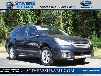 Stivers Subaru Decatur by Subaru Dealer Atlanta Stivers Decatur Subaru New Used