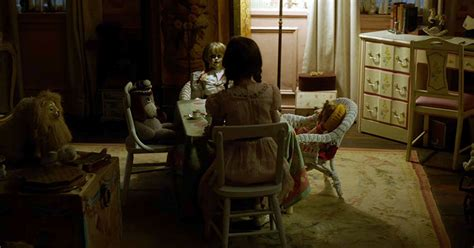 annabelle doll 2016 the annabelle doll returns in the announcement trailer for