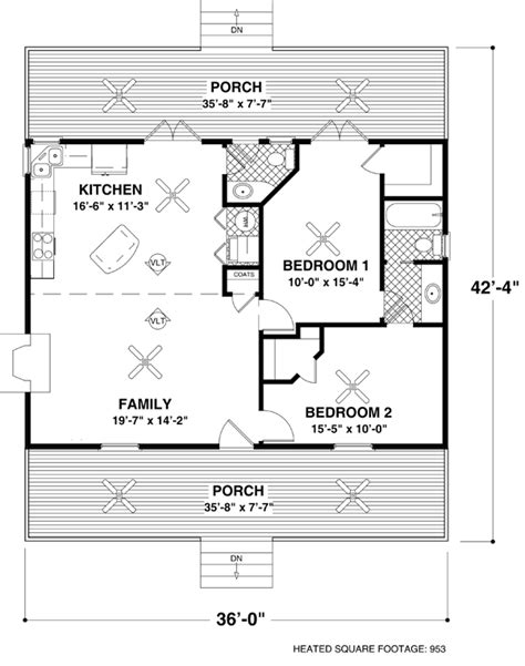 small house plans and floor plans for affordable home