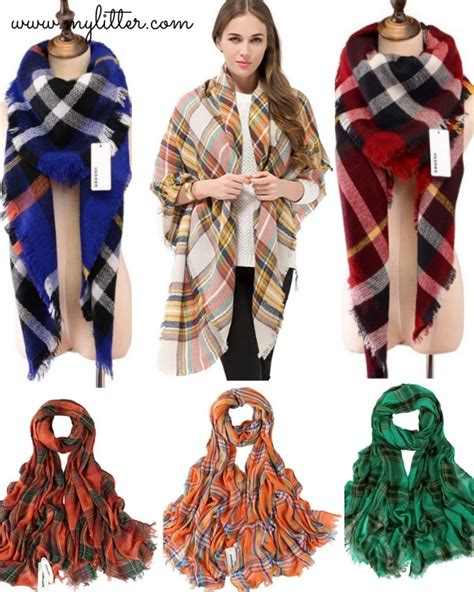 7 Scarf Styles For Fall by Fall Blanket Scarves From Only 7 Shipped
